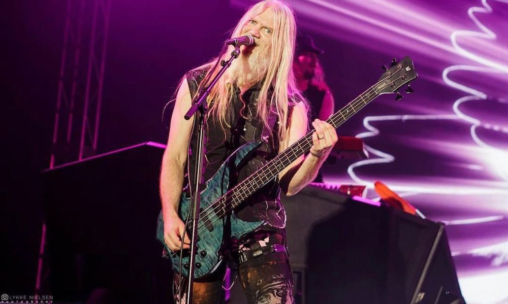 Marco Hietala on the stage